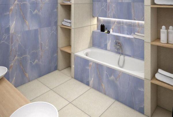 Vecnamenska keramicna ploscica Onyx Modra 300x600 3