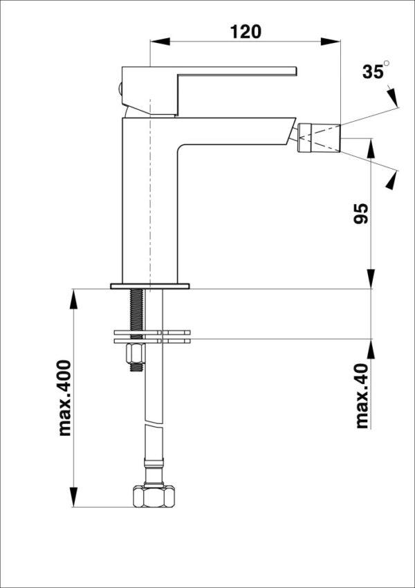 Armatura za bide SQ q50 1