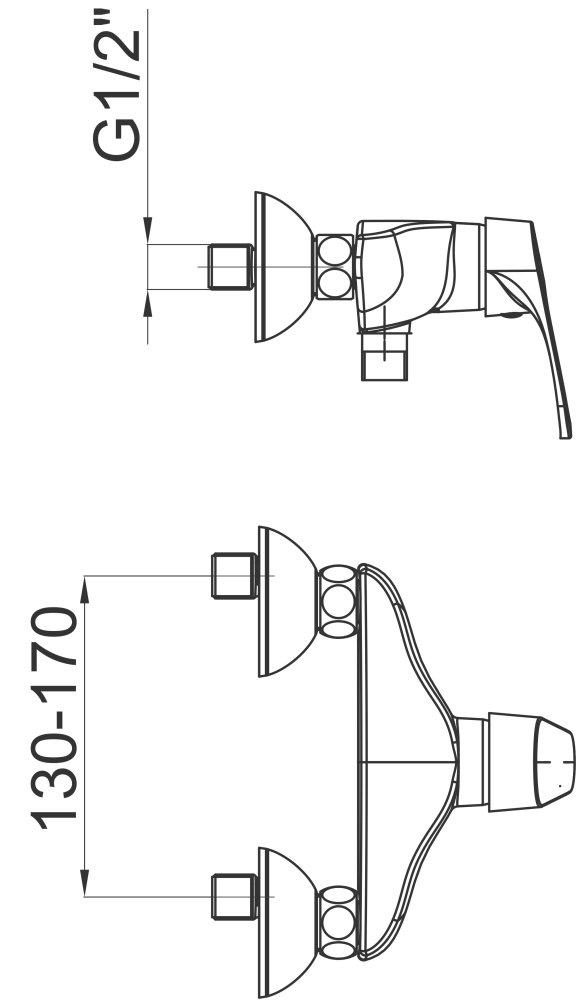 Armatura za prho Project m40 1