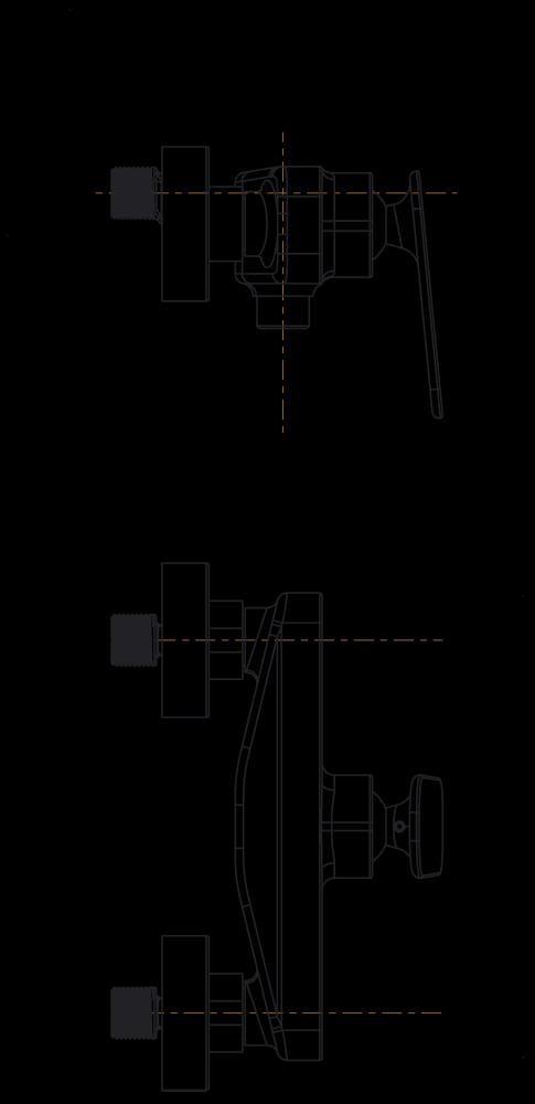 Armatura za prho Zen u40B 1