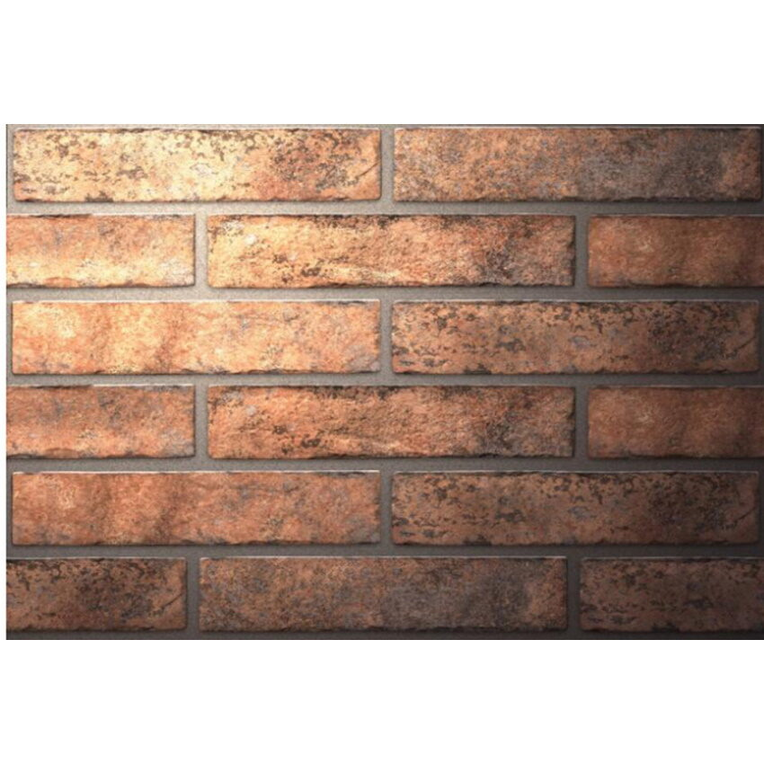 Stenska keramicna ploscica Westminster Oranzna 60x250 1
