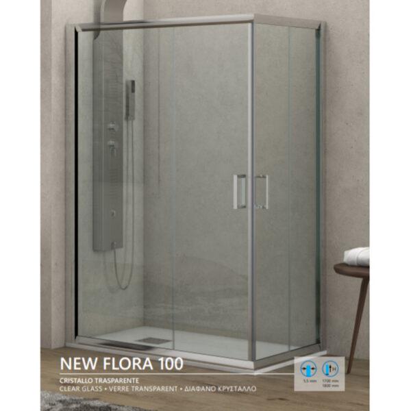 Tus kabina New Flora 100 visina 180 cm