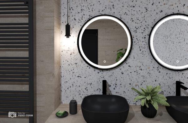 Ogledalo Concepto Bella Black 60 3