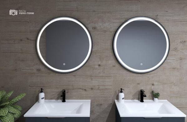 Ogledalo Concepto Bella Black 80 3