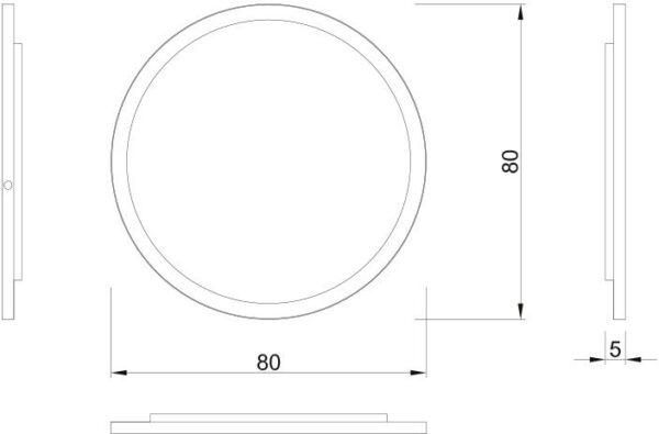 Ogledalo Concepto Erin 80 4