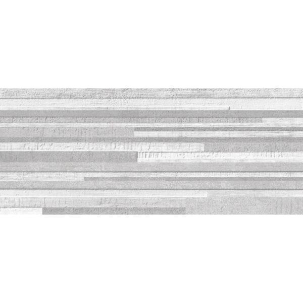 Stenska keramicna ploscica Gorenje Dalia Grey DC Levels 3D 250x600 1