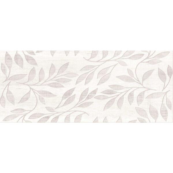 Stenska keramicna ploscica Gorenje Dalia White DC Flower 3D 250x600 1