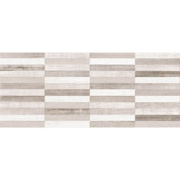 Stenska keramicna ploscica Gorenje Dalia White DC Mosaic 3D 250x600 1