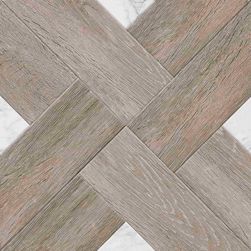 Talna keramicna ploscica Marmo Wood Temni Bez 40x40 1