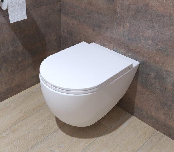 WC deska Voxort Moon slim doft close 2