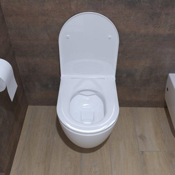 WC deska Voxort Moon slim doft close 3
