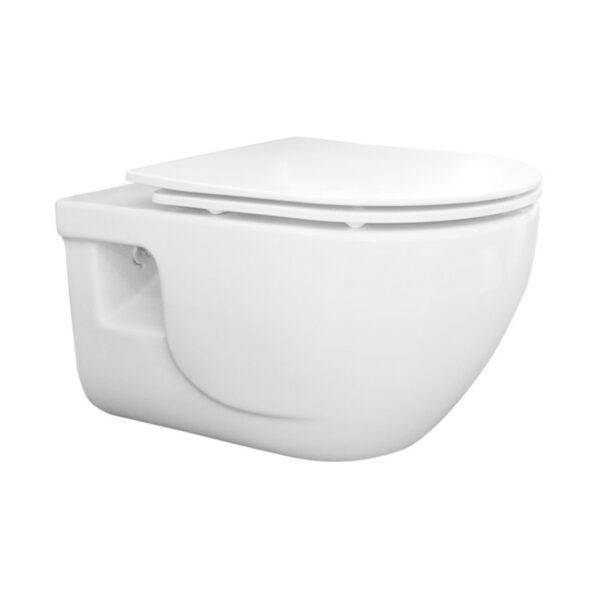 WC skoljka Concepto Brilla rimless viseca
