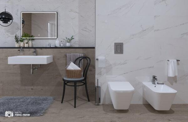 WC skoljka Concepto Diagonal viseca 1