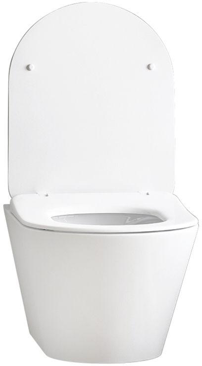 WC skoljka Concepto Eva viseca rimless 1
