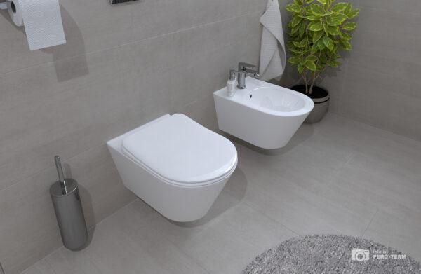 WC skoljka Concepto Eva viseca rimless 4