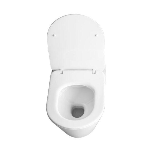WC skoljka Concepto Eva viseca rimless