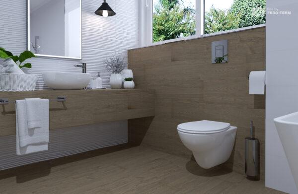 WC skoljka Concepto Simple rimless viseca 2