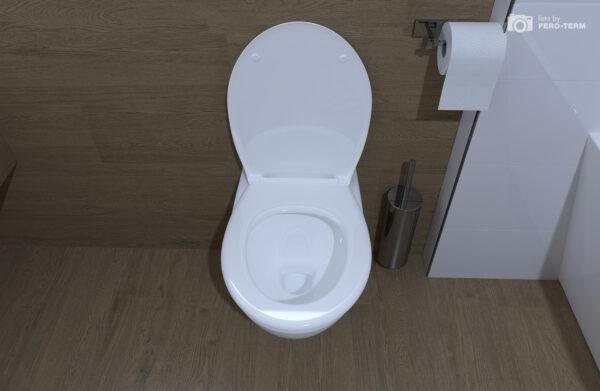 WC skoljka Concepto Simple rimless viseca 3