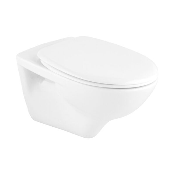 WC skoljka Concepto Simple rimless viseca