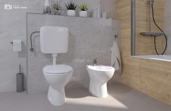 WC skoljka Dolomite Quarzo stojeca 1