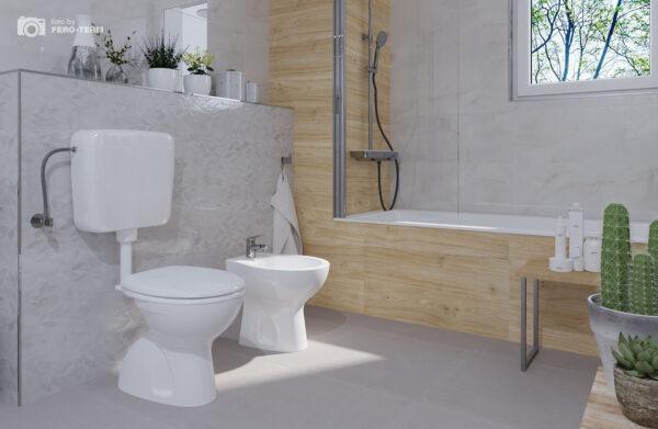 WC skoljka Dolomite Quarzo stojeca 2