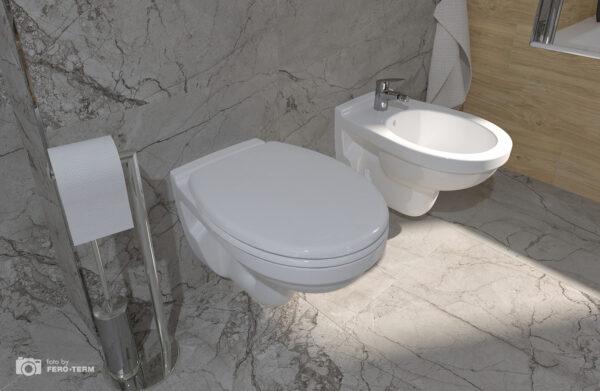 WC skoljka Dolomite Quarzo viseca 3