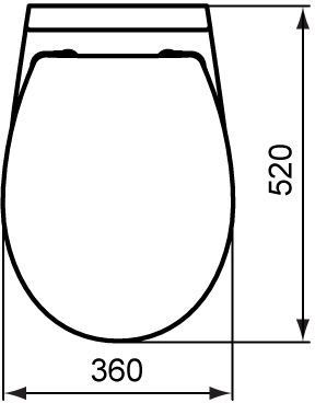 WC skoljka Dolomite Quarzo viseca 6