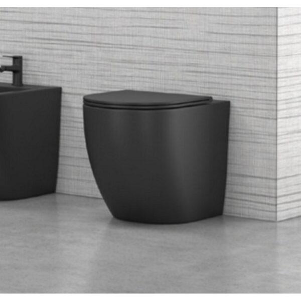 WC skoljka LT 046 crna rimless
