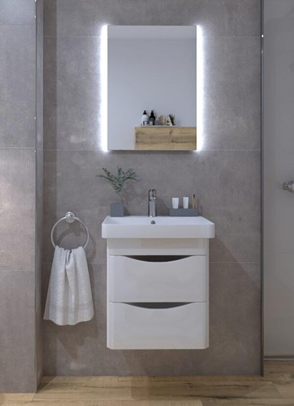 Omarica z umivalnikom Concepto Glam 50 1