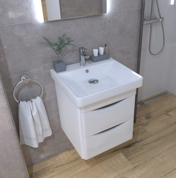 Omarica z umivalnikom Concepto Glam 50 3
