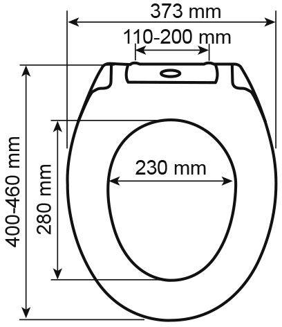 WC deska Voxort Josipa 3
