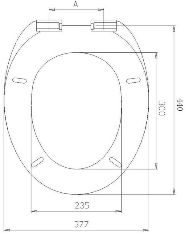 WC deska Voxort Suzy New 2